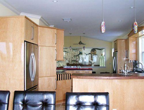 Beachfront Home – New Kitchen Install